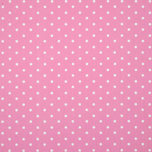Polka Dot Large Curtain Fabric Pink