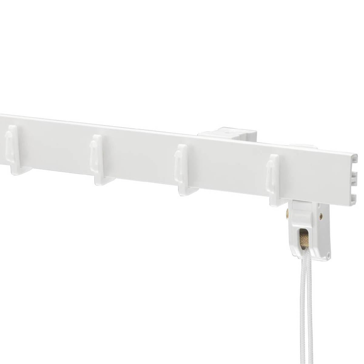 Sunflex Tracks Swish Ruche Rail White Fixing Brackets (Pk 5) Picture