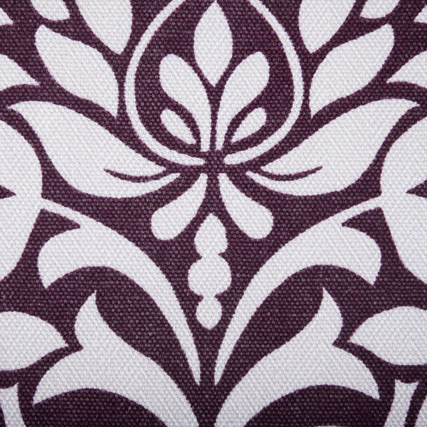 Ruskin Curtain Fabric Berry