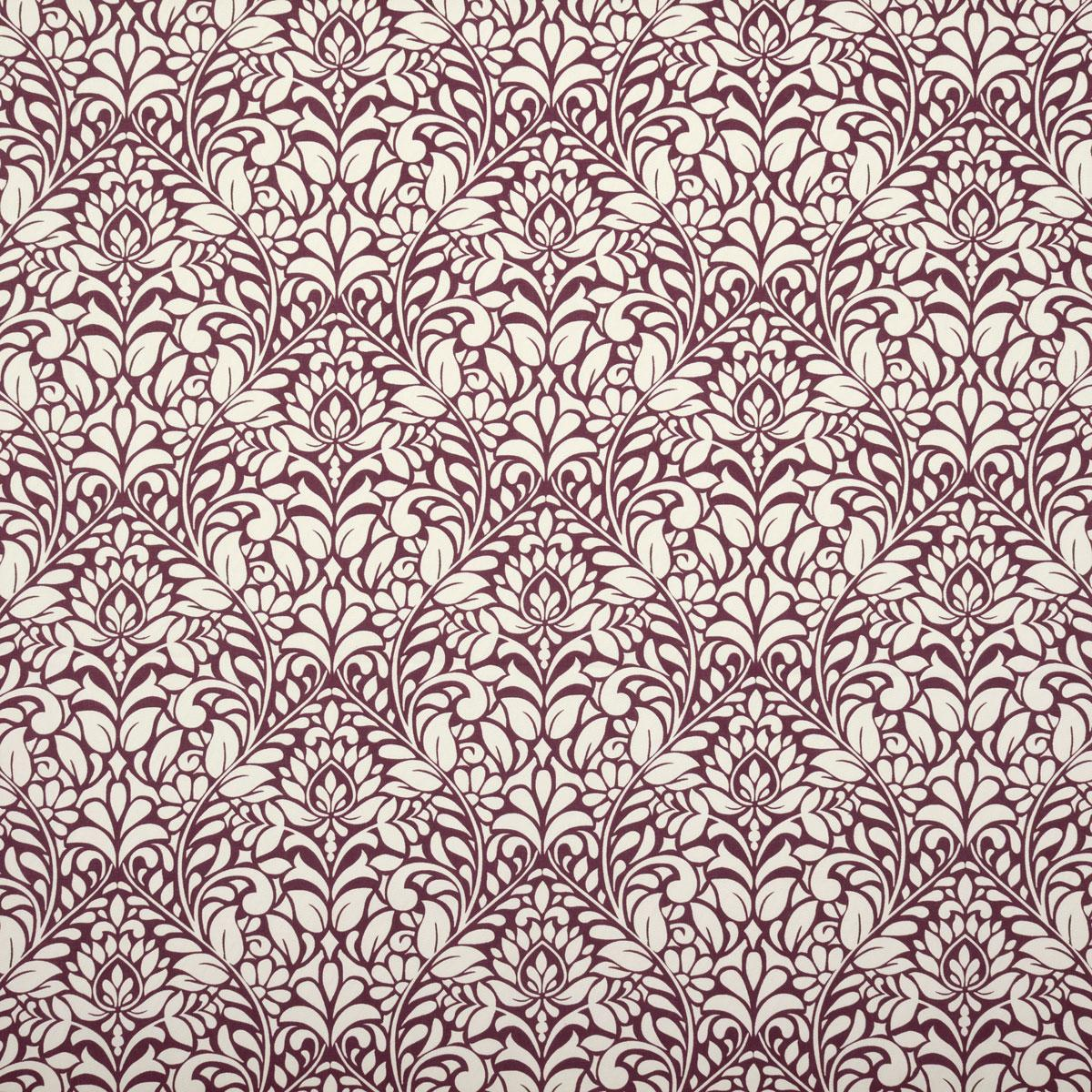 SMD Fabrics Ruskin Curtain Fabric Berry Picture