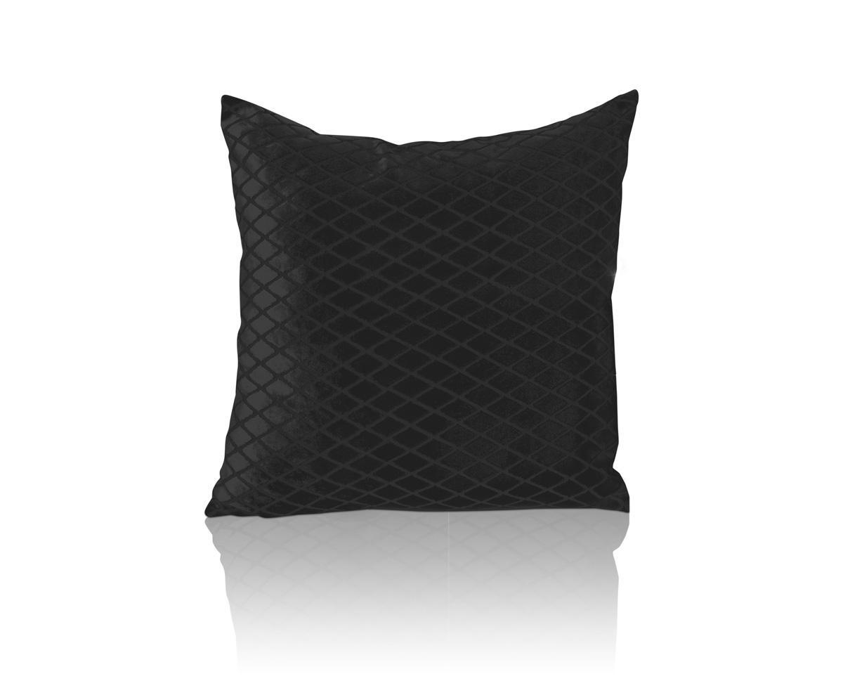 Alan Symonds Cushions And Throws Savoy Square CC Black