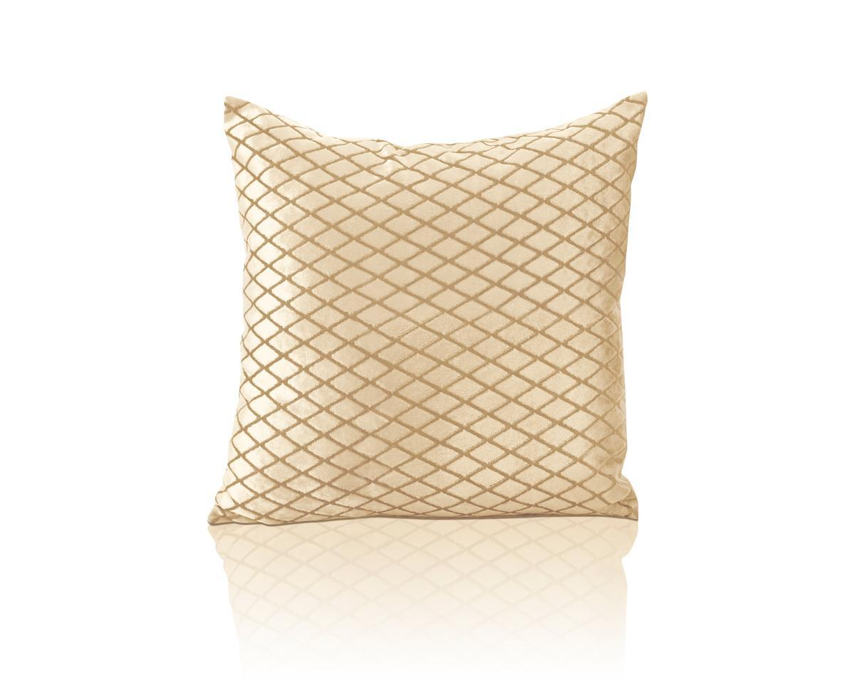 Alan Symonds Cushions And Throws Savoy Square CC Cream Picture