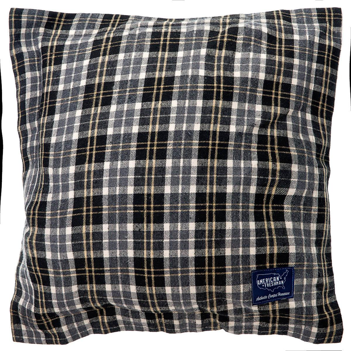 Ashley Wilde Cushions And Throws  Seattle Filled Square Cushion Charcoal