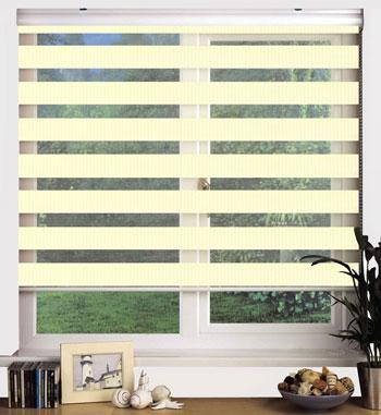Sunflex Blinds Swish Sheer Elegance 160cm Drop Blind Chantilly Picture