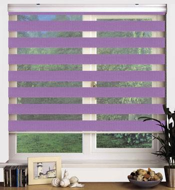 Swish Sheer Elegance 160cm Drop Blind Twilight