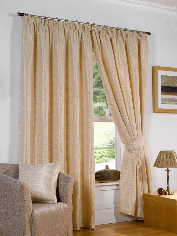 Sicily Ready Made Lined Curtains Silk