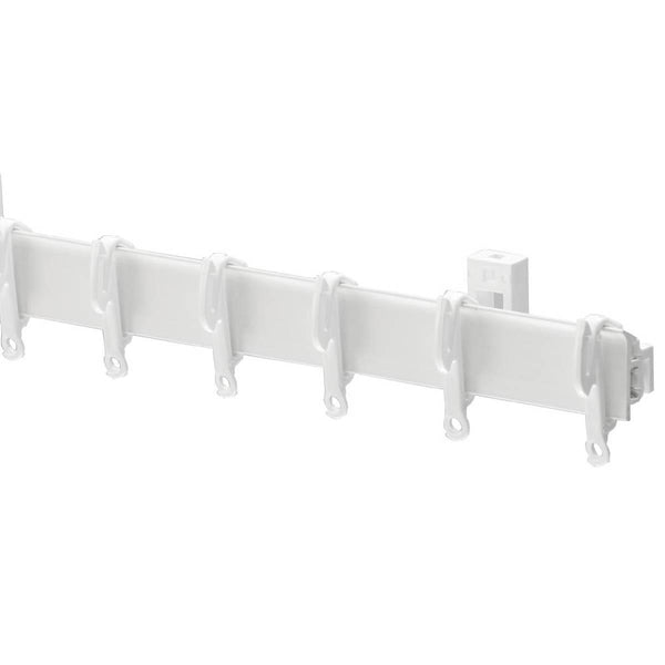 Swish Sologlyde Curtain Track White