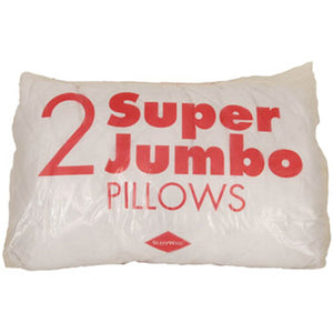 Super Jumbo Pillows White Default Title