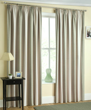 Twilight  Ready Made Blackout Curtain Green