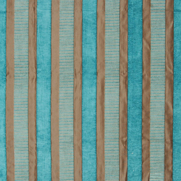 Taipei 2 Curtain Fabric Azure