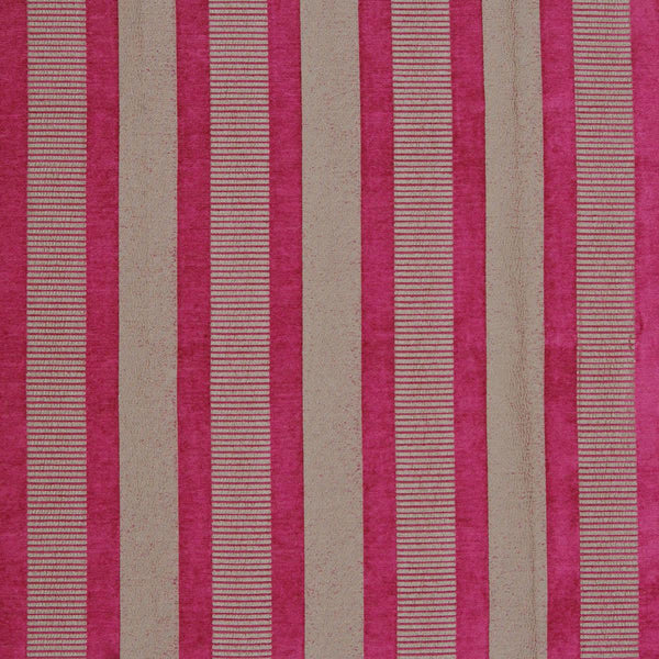 Taipei 2 Curtain Fabric Fuschia