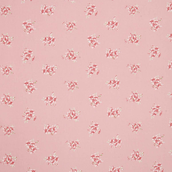 Tilly Curtains Fabric Rose