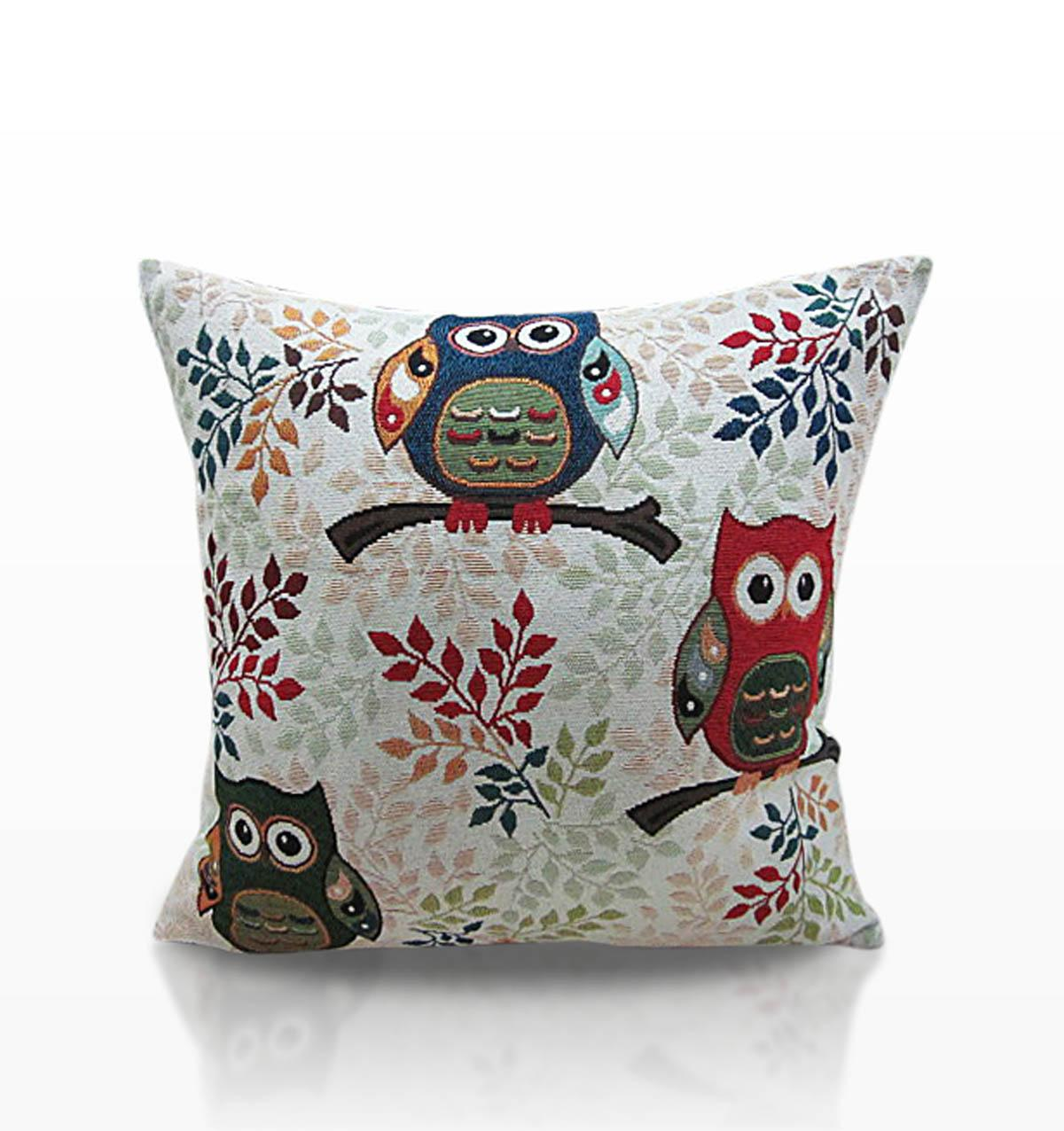 Alan Symonds Cushions And Throws Toowit Cushion Filled Multi Picture