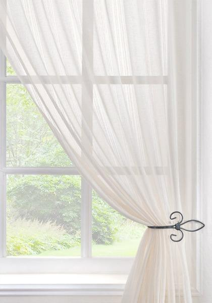 Pavilion Ready Made Curtains Toronto Voile Curtain Panel Cream Picture