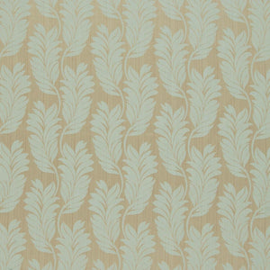 Trevi Jacquard Curtain Fabric Duckegg