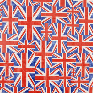 Union Jack PVC Fabric Light Multi