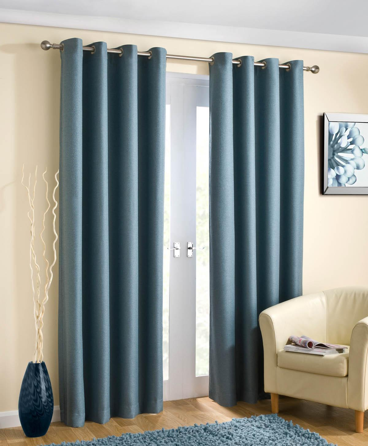 Tyrone Ready Made Curtains Wetherby Ready Made Blockout Eyelet Curtains  ... Picture