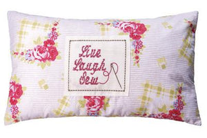 Kirstie Allsopp Wilma Feather Filled Boudoir Cushion Rose