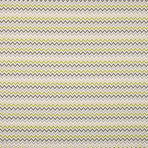 Zag Zig Curtain Fabric Eucalyptus