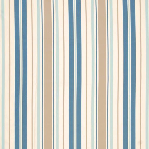 Zoe Curtain Fabric Azure