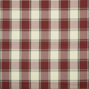 Alderney Fire Retardant Upholstery Fabric Rosso
