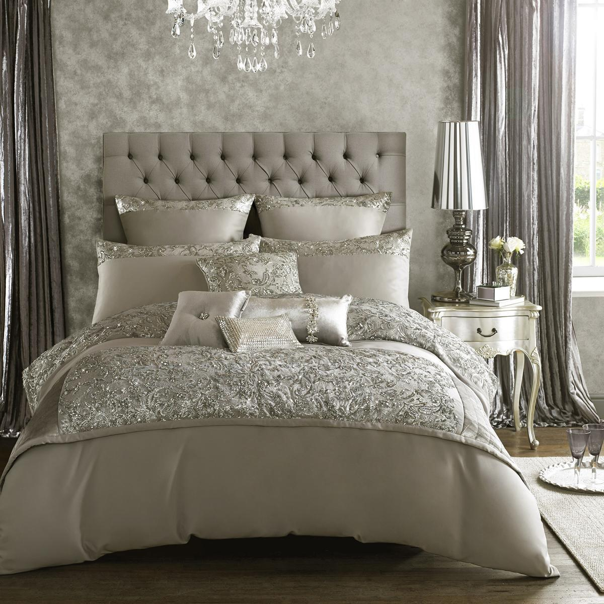 Ashley Wilde Bedding Kylie Minogue Alexa Bedding In Silver Picture