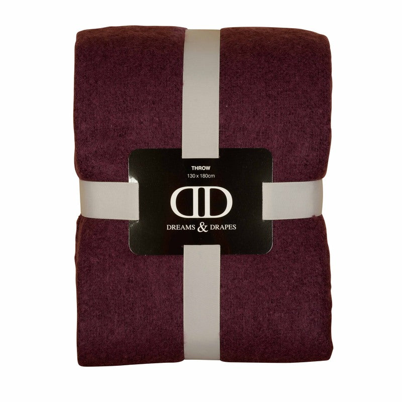 J Rosenthal Cushions And Throws Alexa Throw Plum Picture
