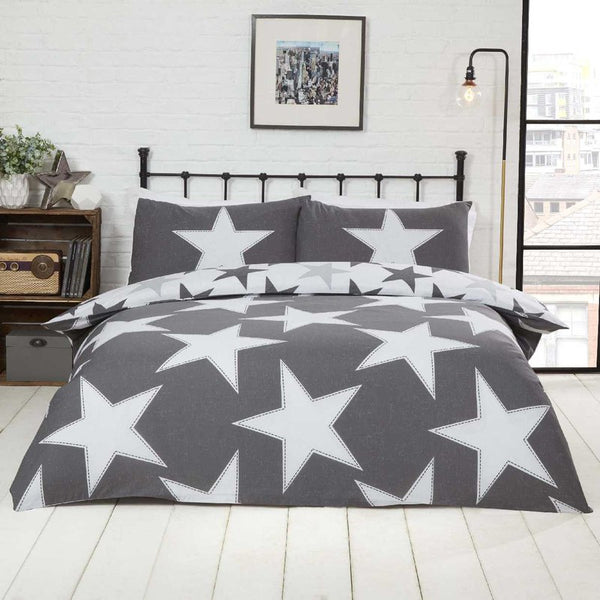 All Stars Bedding Set Grey