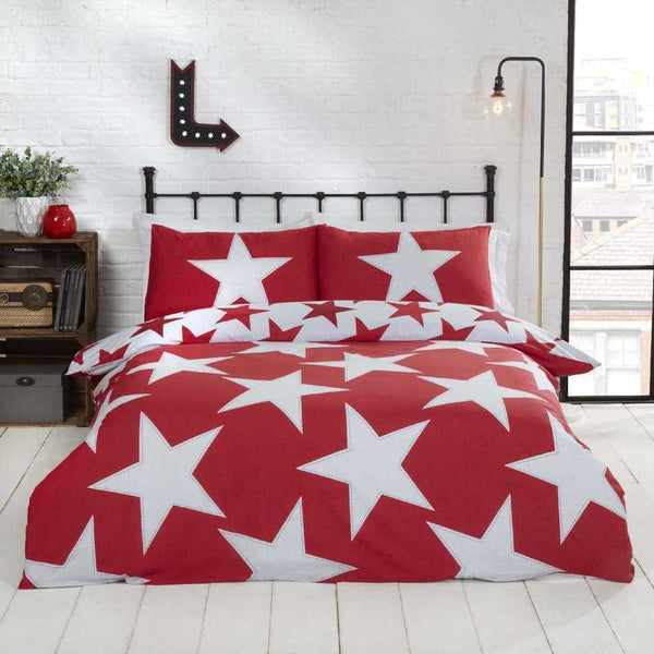 All Stars Bedding Set Red