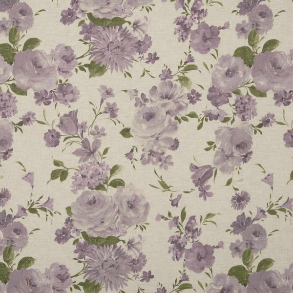 Amelie Curtain Fabric Mulberry