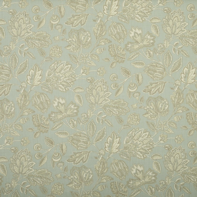 Fryetts Fabrics Amore Curtain Fabric Duck-Egg Picture