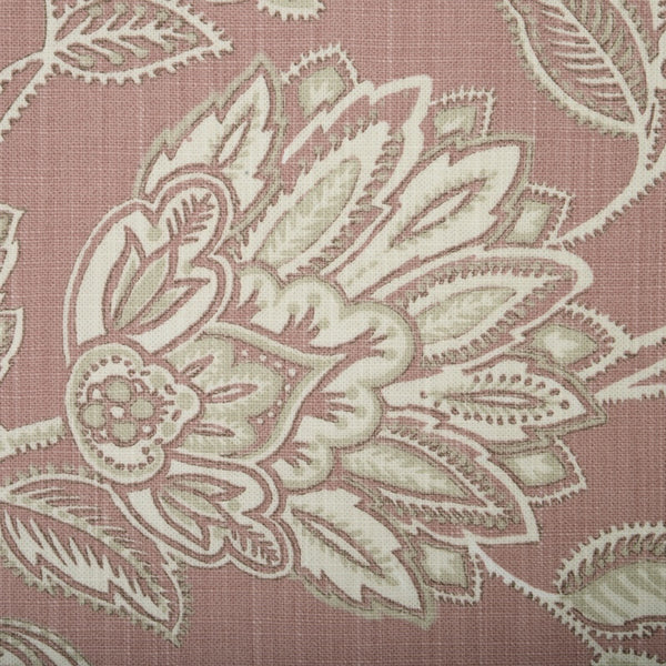 Amore Curtain Fabric Rose