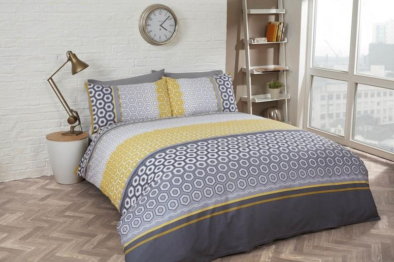 Rapport Homes Bedding Barbican Bedding Ochre Picture