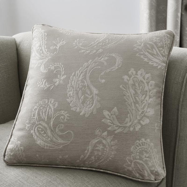 Ashford Filled Cushion Dove Grey Silver