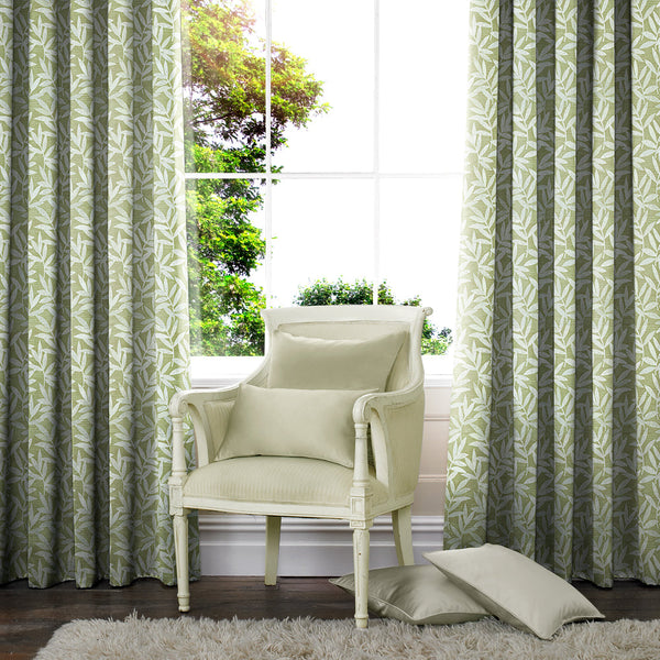 Portland Made to Measure Curtains Olive