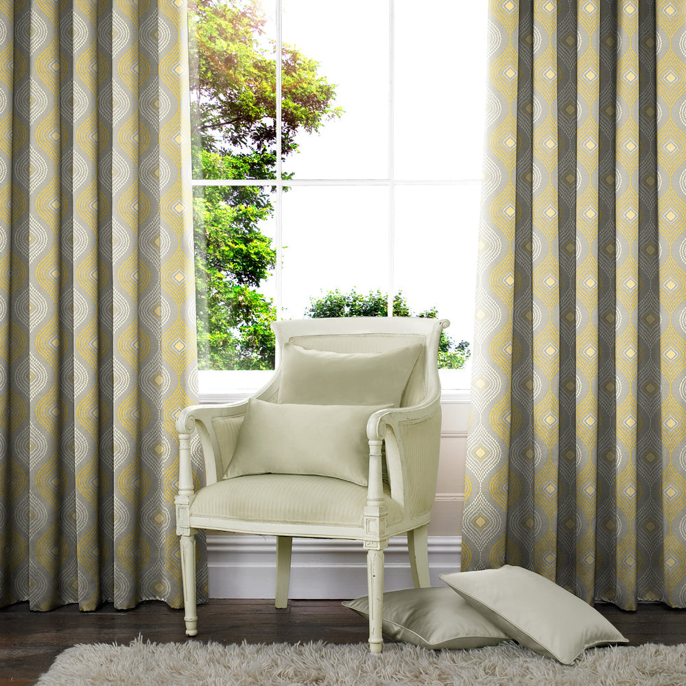 Belfields Made to Measure Curtains  Avis Made to Measure Curtains Citrus
