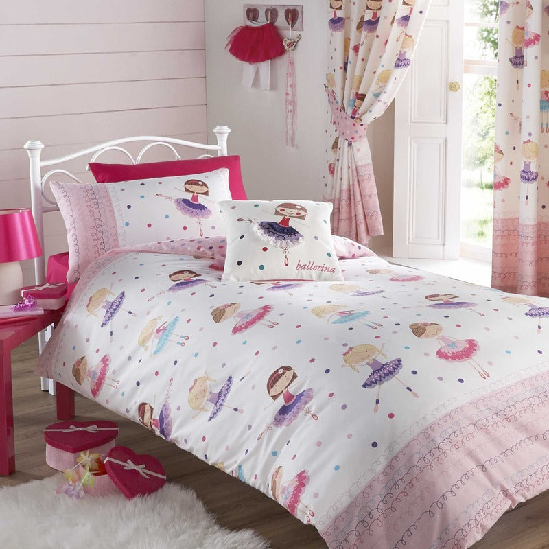 Click to view product details and reviews for Ballerina Kids Bedding Set Multi.