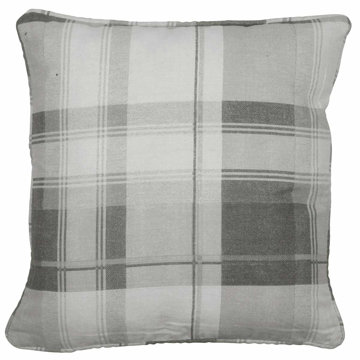 J Rosenthal Cushions And Throws Balmoral Check C/Cover Slate Picture