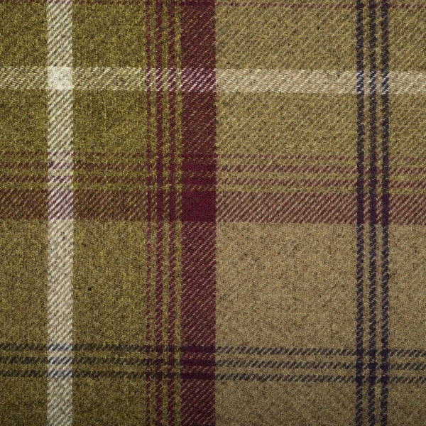 Balmoral Curtain Fabric Heather