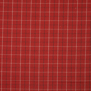 Bamburgh Curtain Fabric Red