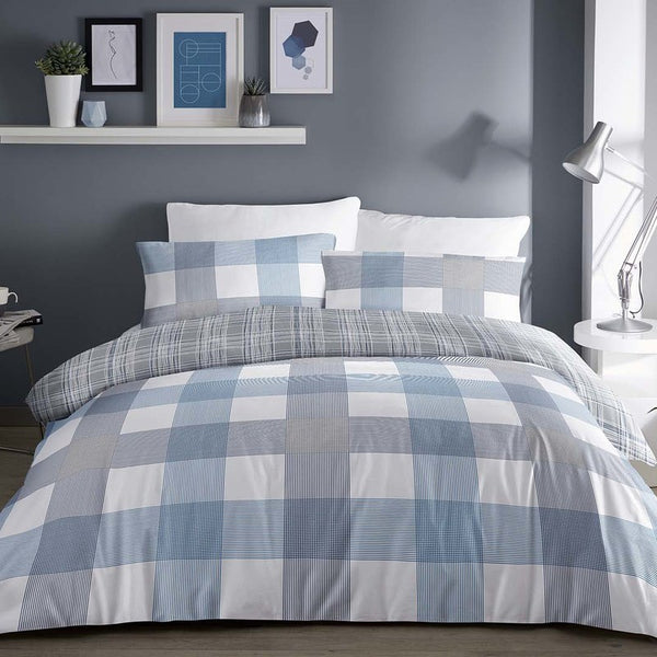Barcelona Bedding Set Blue