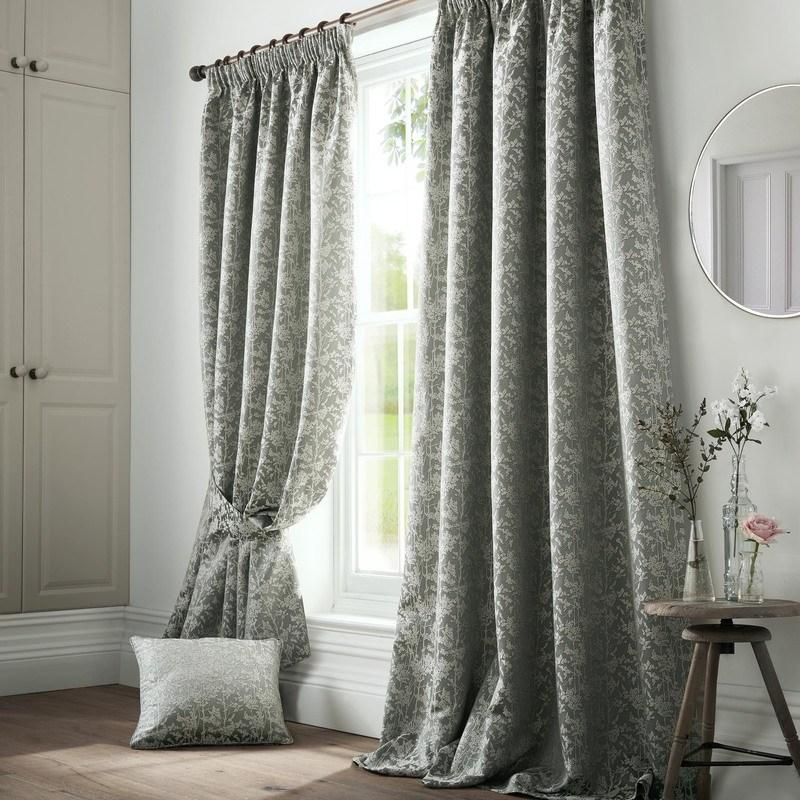 Ashley Wilde Ready Made Curtains Bayford Ready Made Lined Curtains Seafoam Picture