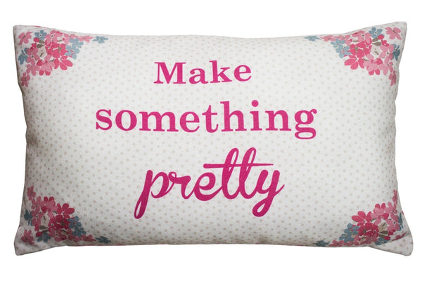 Kirstie Allsopp Bella Filled Cushion Pink