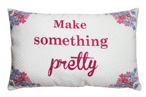 Kirstie Allsopp Bella Filled Cushion Red