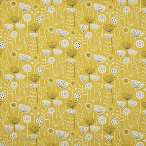 Bergen Curtain Fabric Ochre