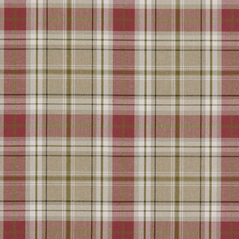 Fryetts Fabrics Berridale Curtain Fabric Red Picture