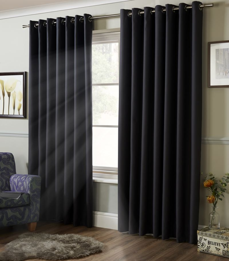 Alan Symonds Ready Made Curtains Blackout Ready Made Eyelet Curtains  ... Picture