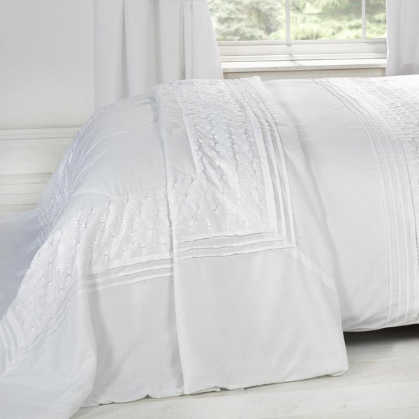 Everdene Bedspread White