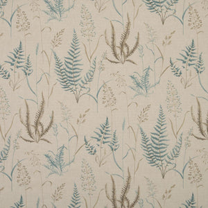 Botanica Curtain Fabric Eau De Nil