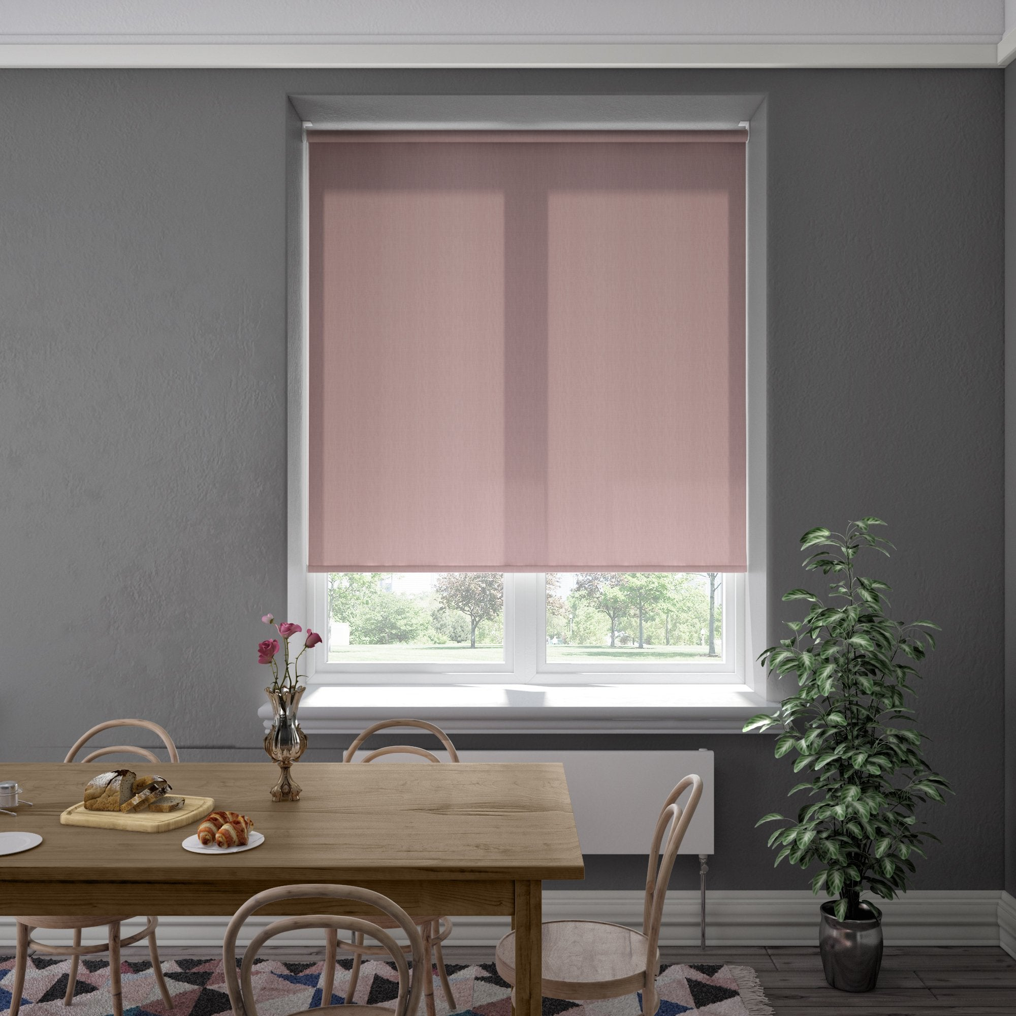 Harris Parts Blinds  Boxley Roller Blind Peony
